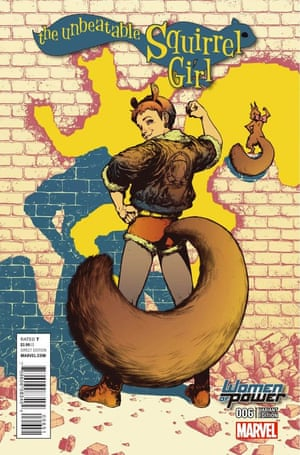 The Unbeatable Squirrel Girl by Marvel Comics #6 with artwork by Kamome Shirahama