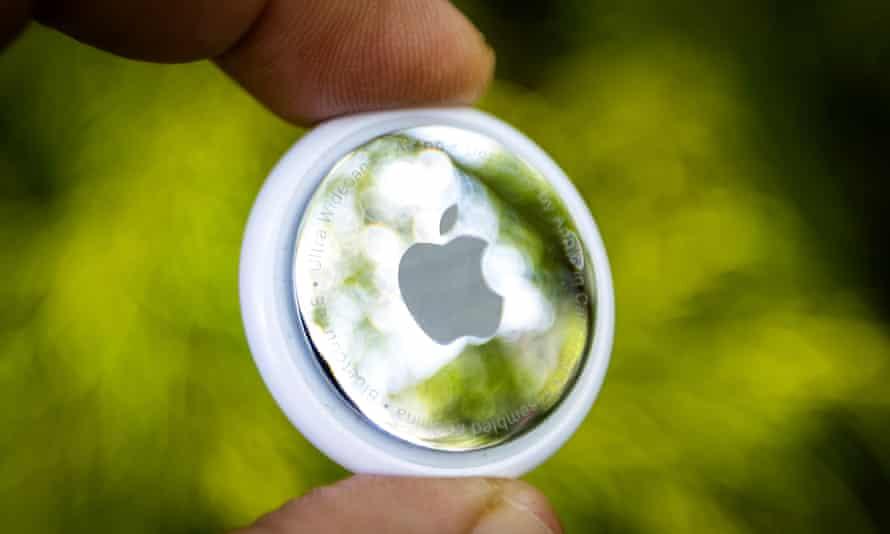 An Apple AirTag