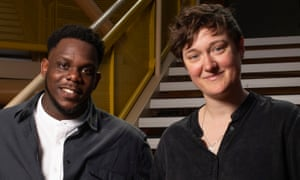 New artistic directors Roy Alexander Weise and Bryony Shanahan.