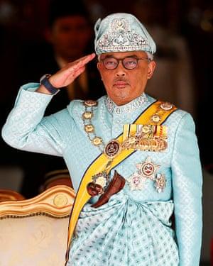 Malaysia's King Al Sultan-Abdullah.