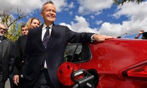 Bill Shorten and electric car