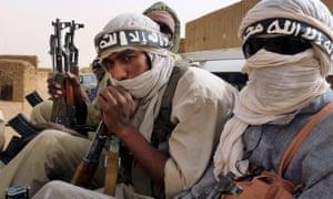 Islamic fighters, Mali, 2012