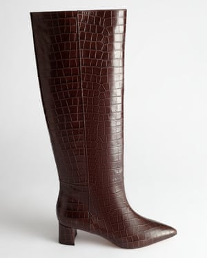 Croc leather, £205, stories.com