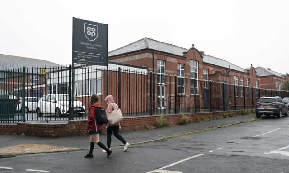 Co-op Academy in Swinton in Greater Manchester