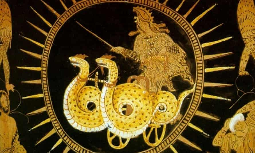 Sinister magic … Medea.