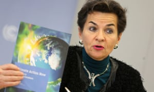 UN climate chief Christiana Figueres.