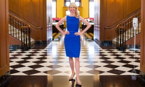 Presence of mind: Harvard professor and acclaimed TED Talk speaker Amy Cuddy.