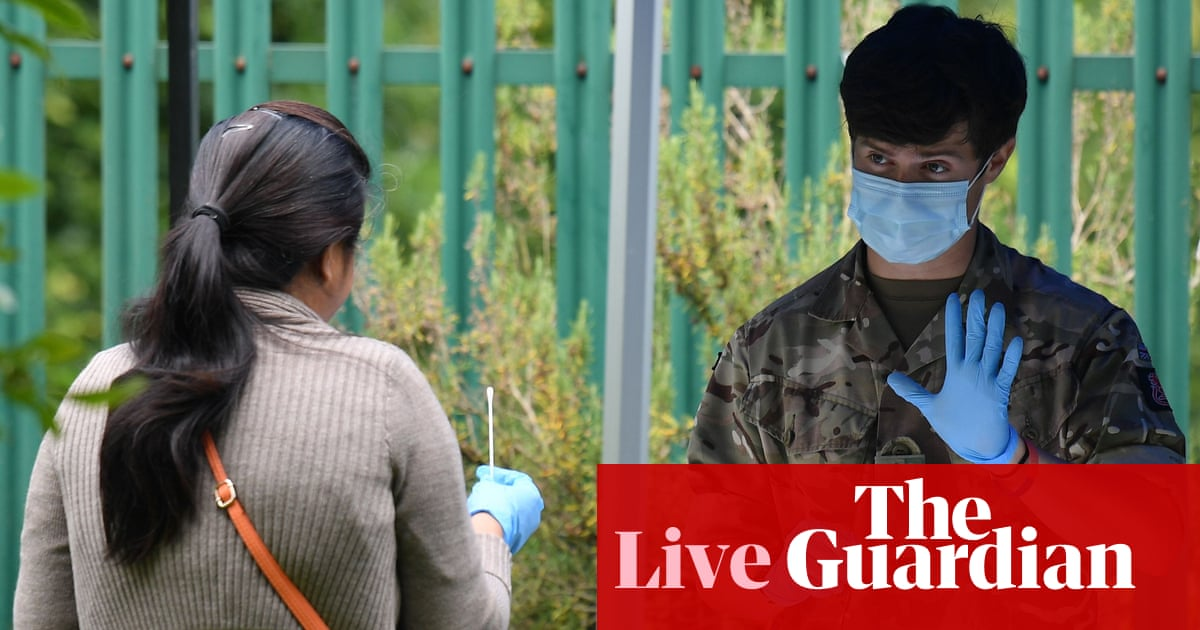 UK coronavirus death toll rises by 155; employers in Leicester lockdown can re-furlough staff – as it happened