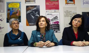 French women's minister Laurence Rossignol has spoken out about fake abortion information sites.