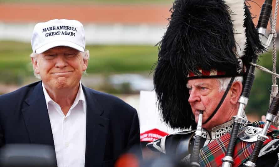 trump scotland golf