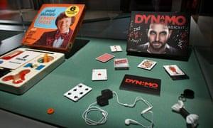 Paul Daniels TV Magic Tricks from the 1980s and Dynamo Magic Kit, 2015.