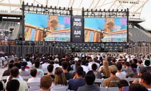 Epic Games invited thousands of fans to its Fortnite E3 Tournament at the Banc of California stadium