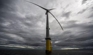 Burbo Bank windfarm off Liverpool