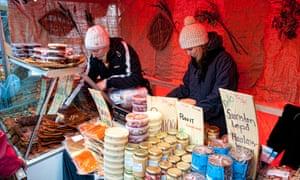 Helsinki Finland famous festival Herring Market