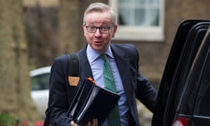 Michael Gove, the subject of royal leak speculation.