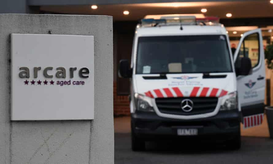 Singage for Arcare aged care facility in Maidstone, Melbourne
