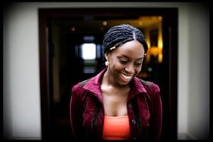 Chimamanda Ngozi Adichie, photographed in 2007.