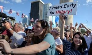 Clinton Florida rally