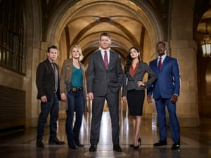 The cast of Chicago Justice.