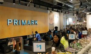 A Primark store in Brooklyn, New York