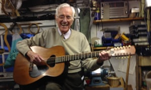 In the mid-1950s Stan Francis developed his interest in making instruments, beginning with a guitar-shaped mandolin, completed in 1957. Then came several six- and 12-string guitars