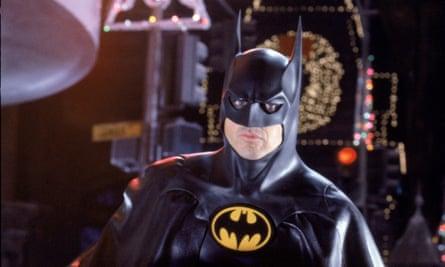Michael Keaton in Tim Burton's 1992 Batman Returns.