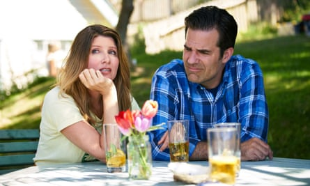 Explosive … Sharon Horgan and Rob Delaney oin Catastrophe.