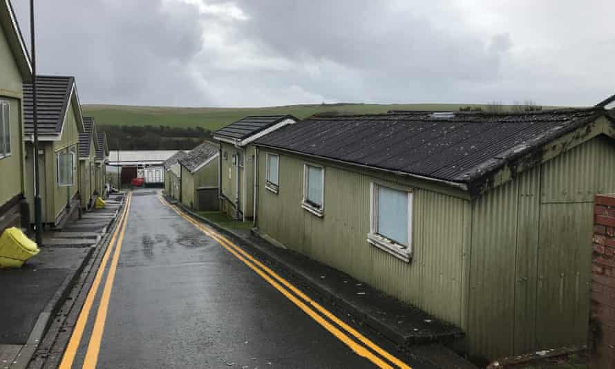 Penally camp in Pembrokeshire.