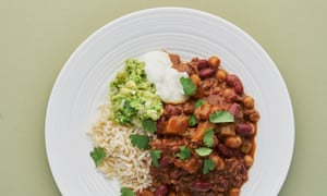 Thomasina has adapted her chilli con carne recipe over the years.