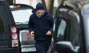 Woody Harrelson rehearsing for live film Lost in London