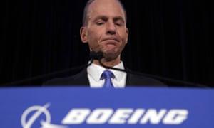 Boeing chief Dennis Muilenburg.