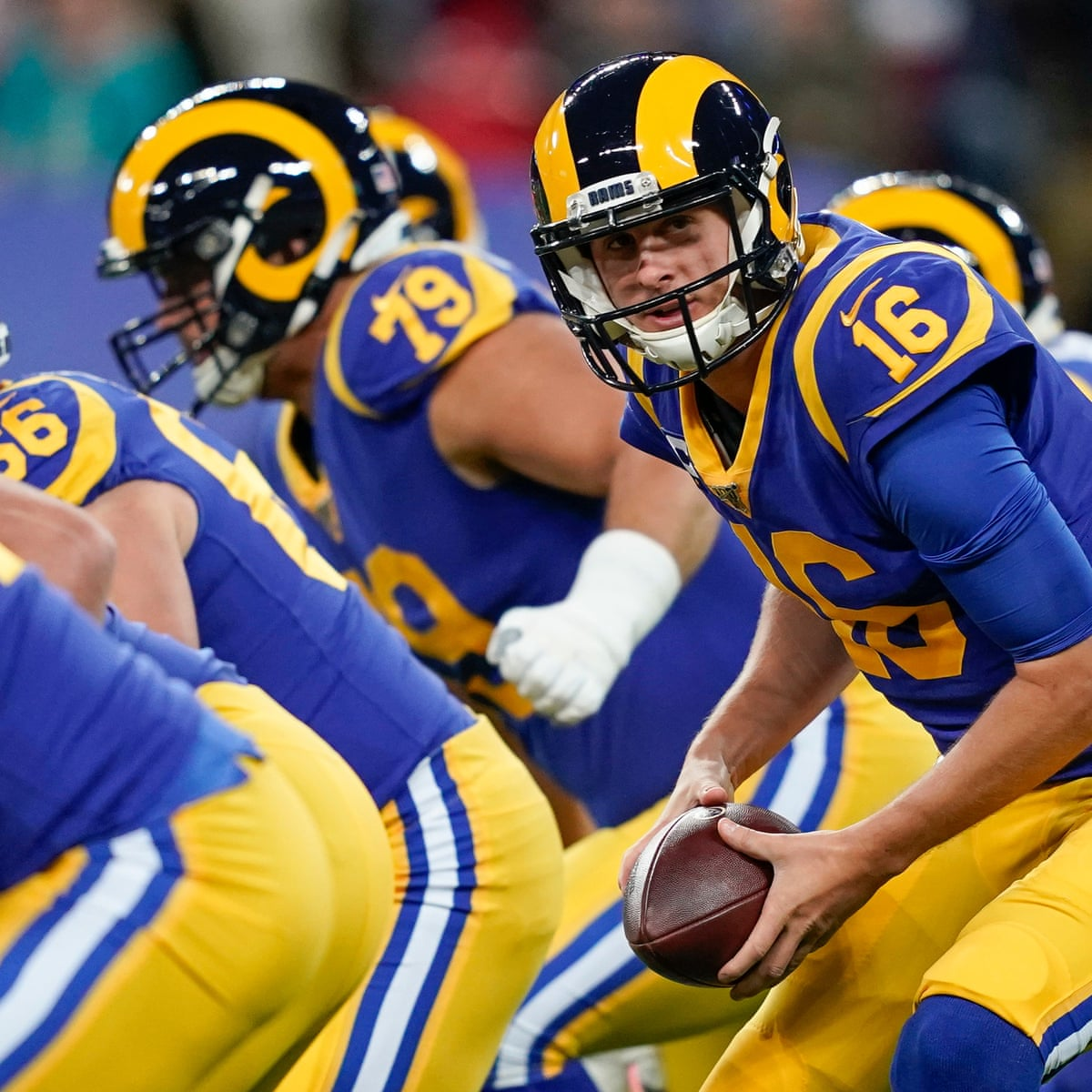 Forget A Super Bowl Slump The La Rams Have A Jared Goff Problem Sport The Guardian