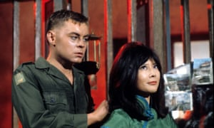 'Air of queasiness': Hywel Bennett in The Virgin Soldiers, 1969.