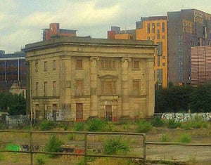 Picture of Curzon Street Station in Birmingham