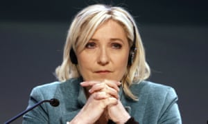Marie le Pen, leader of France's Front National