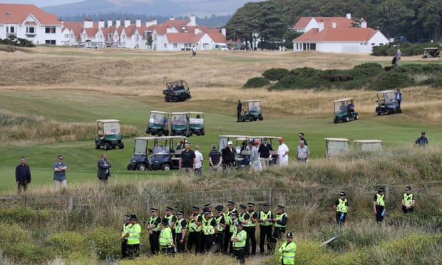 theguardian.com - Severin Carrell - US government paid Trump's Turnberry hotel £53,000