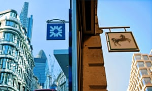 RSB and LLoyds: differing fortunes.