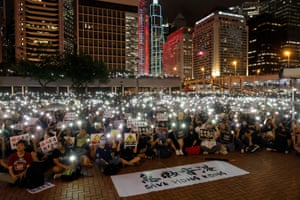 Hong Kong, China Members of Hong Kong's medical sector attend a rally to support the anti-extradition bill protest
