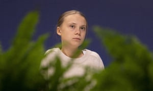 Greta Thunberg tweeted: 'Indigenous people are literally being murdered for trying to protect the forrest [sic] from illegal deforestation. Over and over again,' alongside video of aftermath of drive-by shooting.