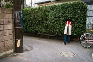 Something here Omachi, Kamakura, December 2011