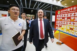 Rafa rolls into Dalian.