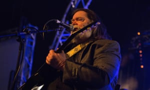 Roky Erickson, formerly of psych rock group the 13th Floor Elevators, at All Tomorrow's Parties in Prestatyn.