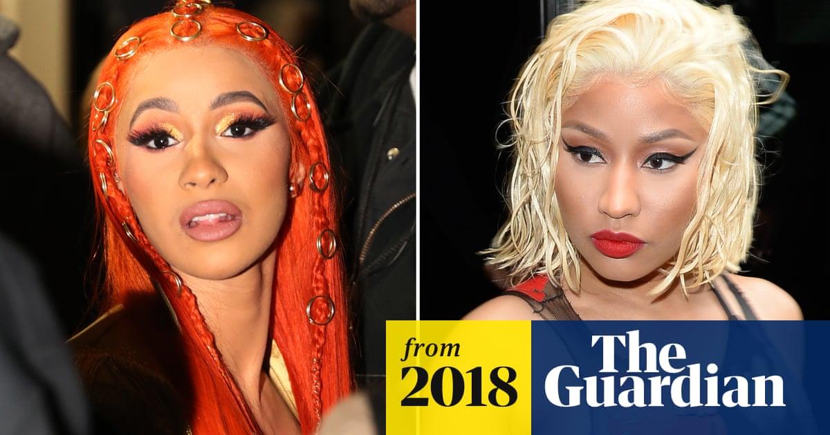 Cardi B Reveals Death Threats To Daughter Amid Feud With Nicki Minaj Music The Guardian