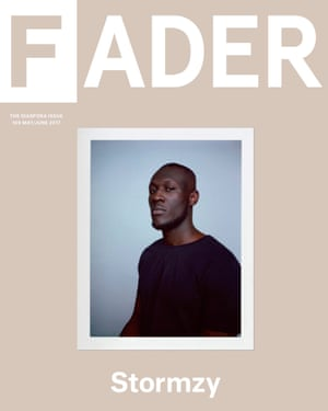 Stormzy on the cover of the Fader.