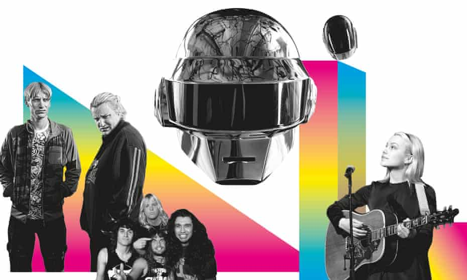 From left: This Country; Slayer; Daft Punk; Phoebe Bridgers.