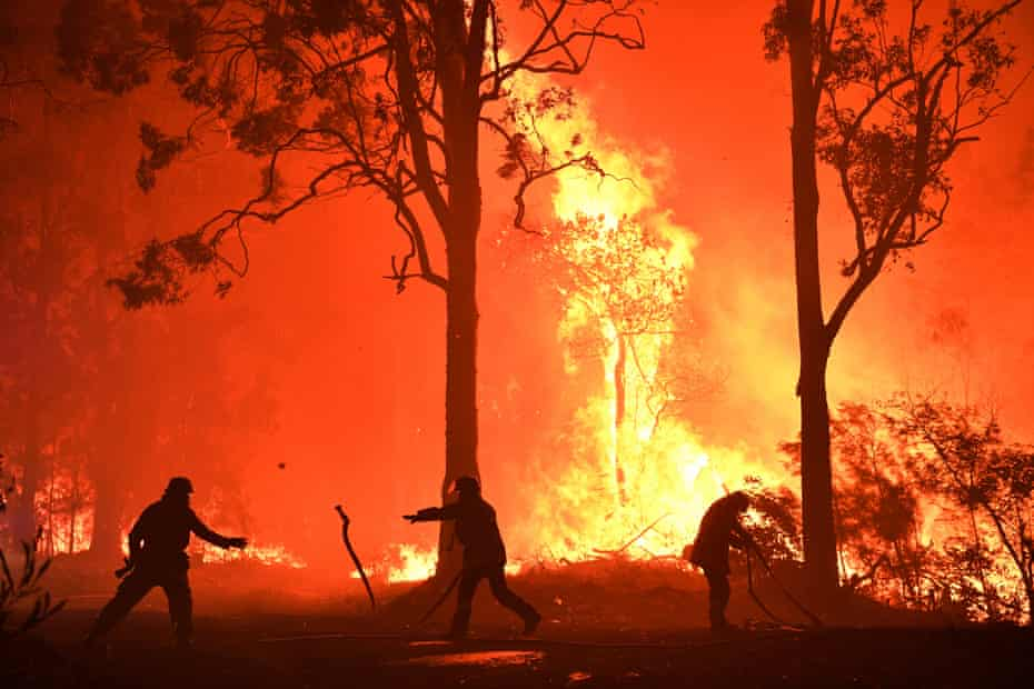 The NSW Rural Fire Service is the largest volunteer firefighting force in the world.