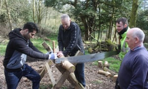 Volunteers in Lancashire take part in a conservation project run by the Wildlife Trusts