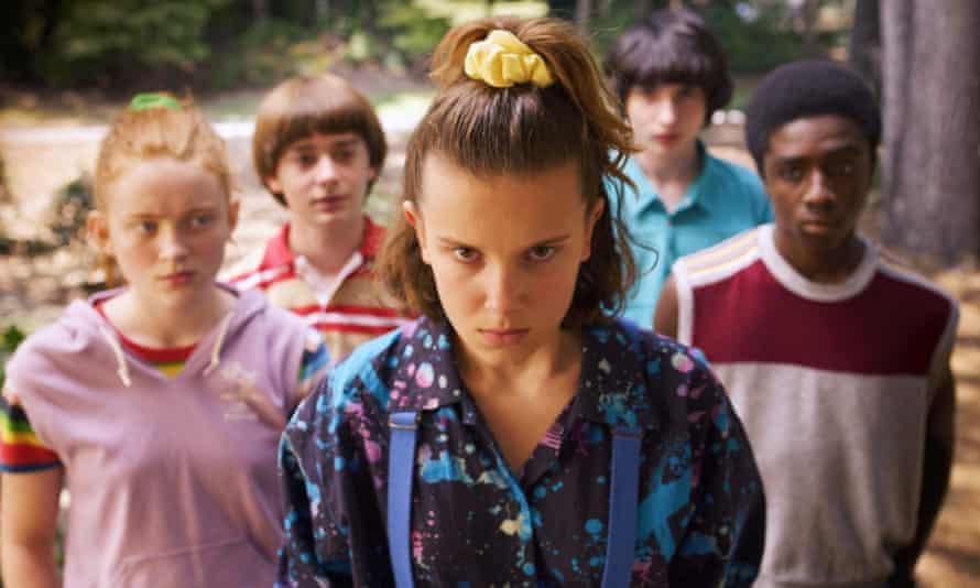 Millie Bobby Brown made her name on Stranger Things on Netflix.