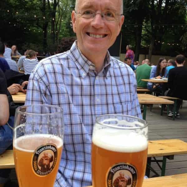 Rory MacLean enjoying Berlin.