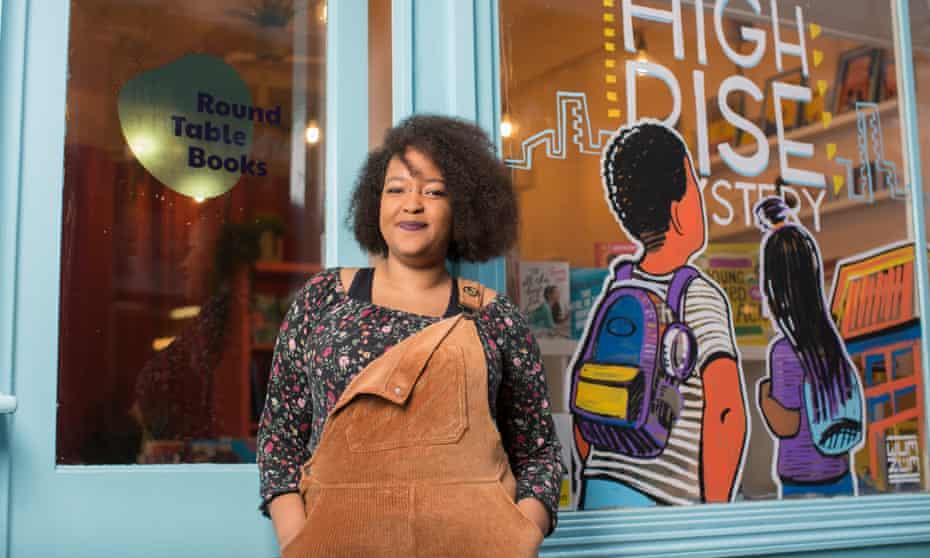 Khadija Osman who runs Round Table Books in Brixton.